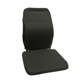 Sacro-Ease Back and Lumbar Support Car Cushion with Extra Padding